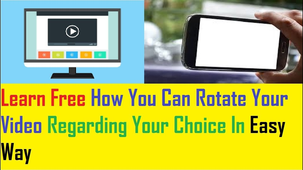How to rotate video easy way to rotate your videos and save youtube how to rotate video easy way to rotate your videos and save ccuart Choice Image