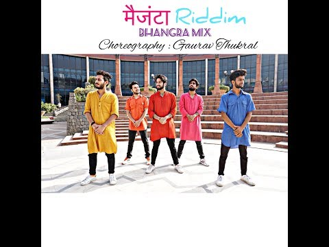 DJ Snake - Magenta Riddim| DJ Aamir |Dhol Mix | M2Ray | Urban Bhangra Choreography : Gaurav Thukral