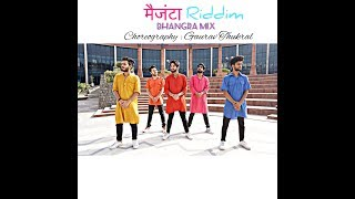 DJ Snake  - Magenta Riddim| DJ Aamir |Dhol Mix | M2Ray | Urban Bhangra Choreography : Gaurav Thukral Video