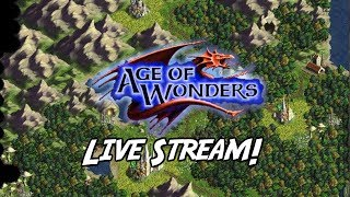 Age Of Wonders Live Stream: Retro PC Games #7