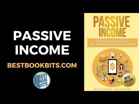 Richard Gadson: Passive Income Book Summary