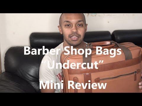 Barber Shop Bags