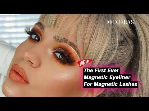 abf879865a0 Magnetic Eyeliner For Magnetic Eyelashes by MoxieLash - YouTube