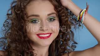 Model in Vintage Outfit - (lifestyle) Stock Footage | Mega Pack +40 items