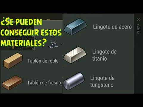 Es posible obtener tablones de roble y lingotes de acero last day on earth survival youtube - Tablones de roble ...