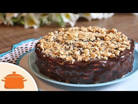 Como Fazer Torta de Palha Italiana - Receita Prática - YouTube 410b4766ee6