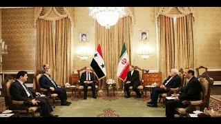 4 اتفاقيات تعاون بين النظام وإيران بعد زيارة عماد خميس لطهران