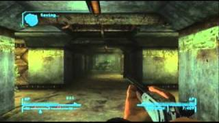 Fallout New Vegas Help! Exloring Vault 22 - AER14 Prototype and HEPA 20 [Commentary]