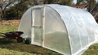 How to Build a PVC Arched Greenhouse (Quick Version)