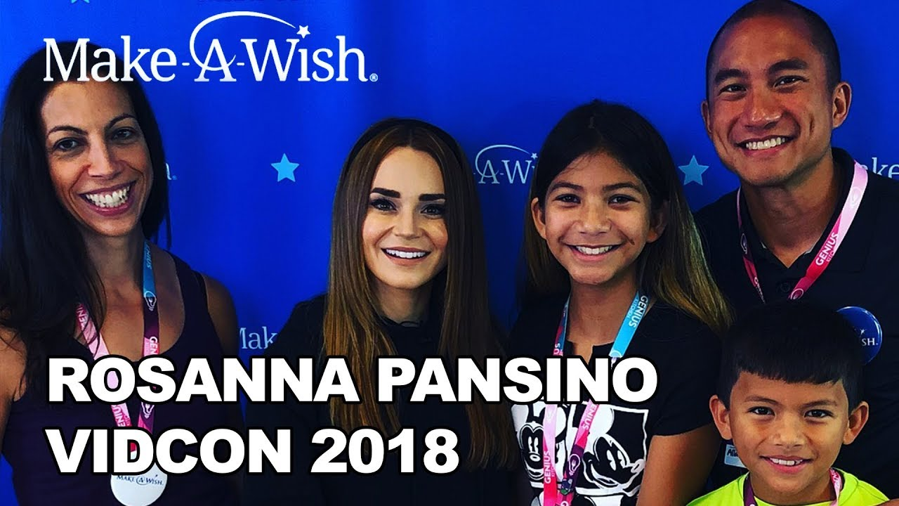 Rosanna Pansino with Make-A-Wish at VidCon 2018! | Make-A-Wish®