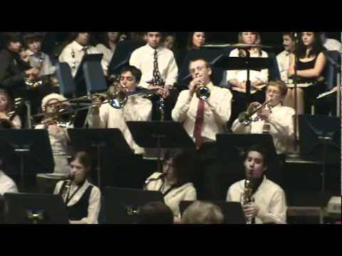 Pleasant Hills Middle School Jazz Band - 2008 - Chattanooga Choo Choo.wmv