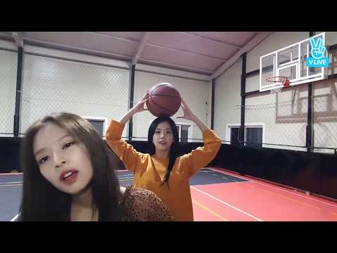 BLACKPINK   Jennie  And Jisso  PART 1 Playing Basketball And Doing Sports