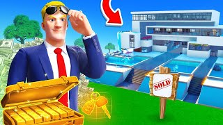 Becoming a TYCOON MILLIONAIRE in Fortnite!