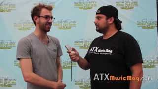 Young The Giant Interview at ACL (Jacob Tilley)