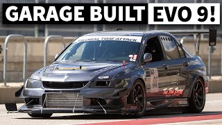 600+ hp Widebody Time Attack Evo is no Parking Lot Queen