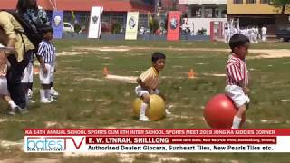 KA 14TH ANNUAL SCHOOL SPORTS CUM 6TH INTER SCHOOL SPORTS MEET 2019 JONG KA KIDDIES CORNER