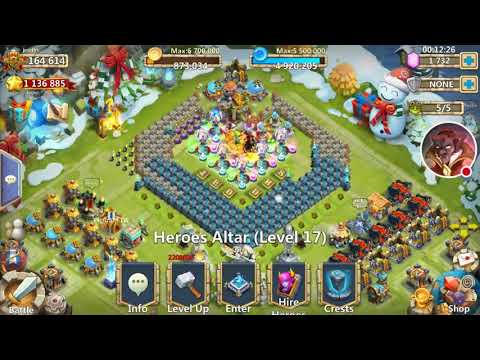 Castle Clash Redeeming Cupid Skin And Lost Battlefield Attempts