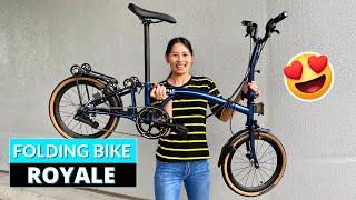 Фото Mobot Royale Folding Bike Review - Cheaper Brompton Alternative