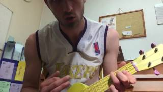 b7 ukulele chord