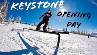 KEYSTONE OPENING DAY 2018 SNOWBOARDING