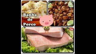 🐷🐽🐷Banha de Porco Caseira da Minha Vó+Torresmo Super Crocante com Déby & Ian🐷🐽🐷