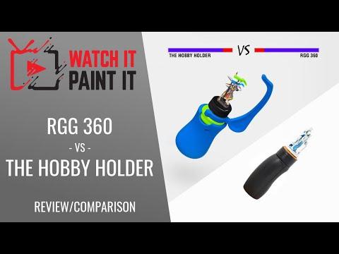 Game Envy - The Hobby Holder vs Redgrass Games - RGG 360 - which miniature holder is better?