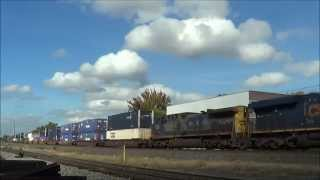 railfanning ns csx o scale and nysw 10 5 10 14 2014 with bnsf up drgw prlx cp bn and more