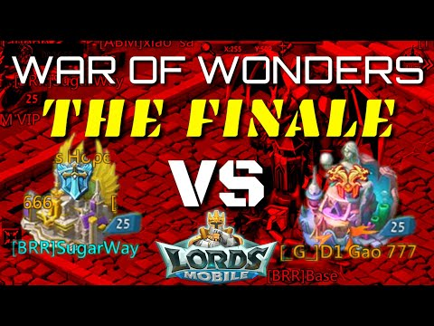 Criminals Alliance War Finale - Lords Mobile