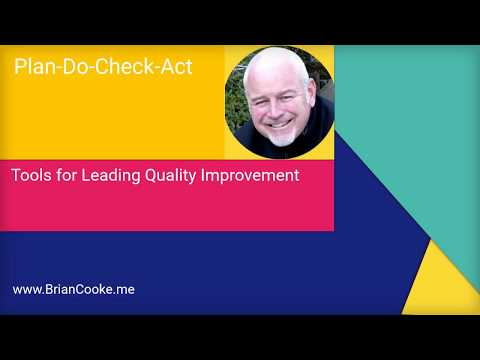PDCA  - Plan Do Check Act - DMAIC & Quality Tools