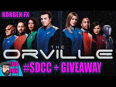 The Orville Exclusive Season 3 Tease Planned For #SDCC 2019 - KORBEN FX ORVILLE GIVEAWAY
