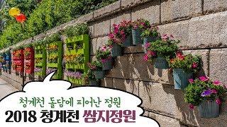 [서울시설공단] 청계천 쌈지정원 스케치썸네일