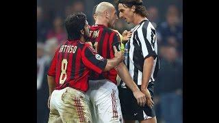 Zlatan Ibrahimovic vs Jaap Stam (Milan-Juventus) 2005-2006