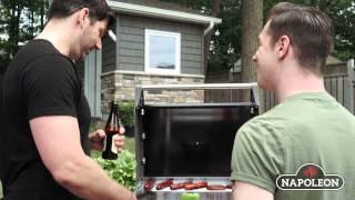napoleon triumph t325sb 2-burner freestanding natural gas grill
