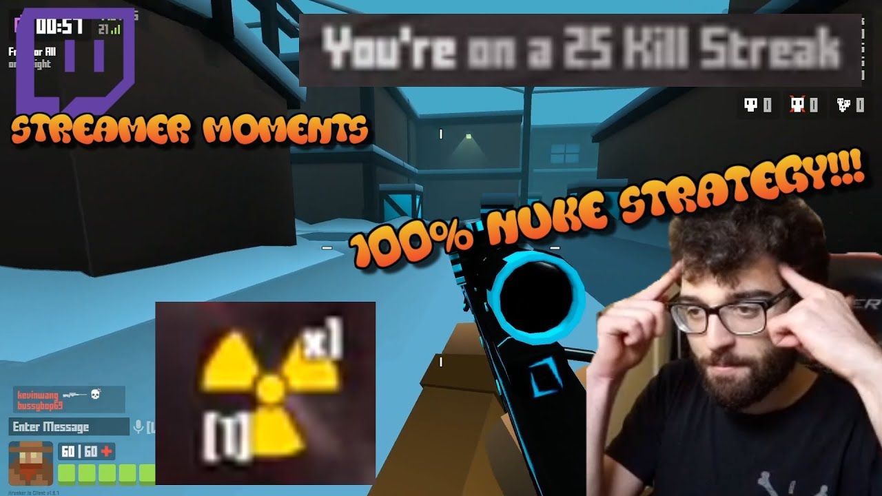 Download UCD's Tip For Getting A Nuke Every Time!! Krunker Streamer Moments #2
