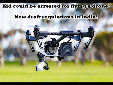 Young guy caught Flying a drone in Delhi | New Law on flying Drones | Simple steps to avoid a case |