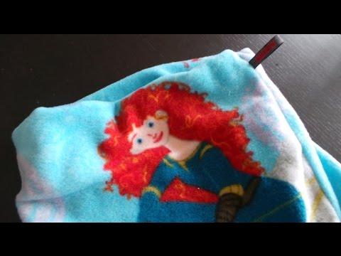 DaIsY´s DIY - Fleece Kinder Loop Schal in 12 Minuten selber nähen ...