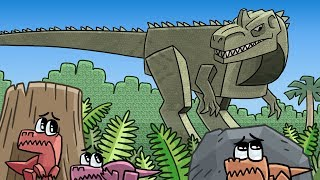 Roblox - TRANSFORMED INTO A GIANT DINOSAUR! (Roblox Dinosaur Simulator)