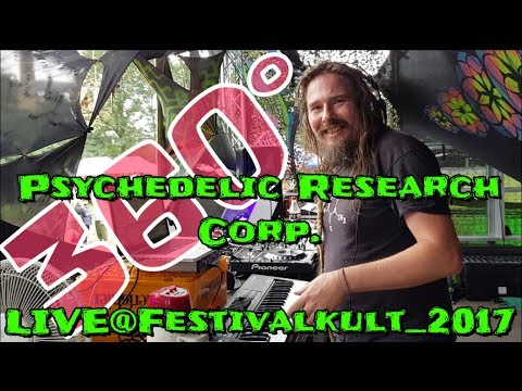 PSYCHEDELIC RESEARCH CORP. Live@Festivalkult_2017, 360°