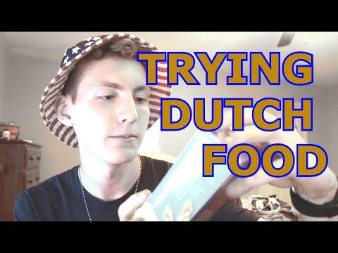 TRYING DUTCH FOOD
