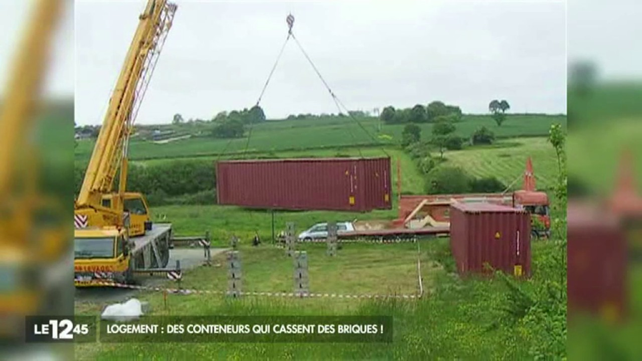 Maison container youtube for Maison container reportage m6