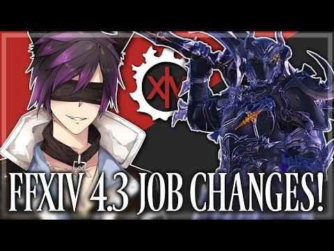 FFXIV: Job Changes in 4.3! (Final Fantasy XIV | 1080p | PC)