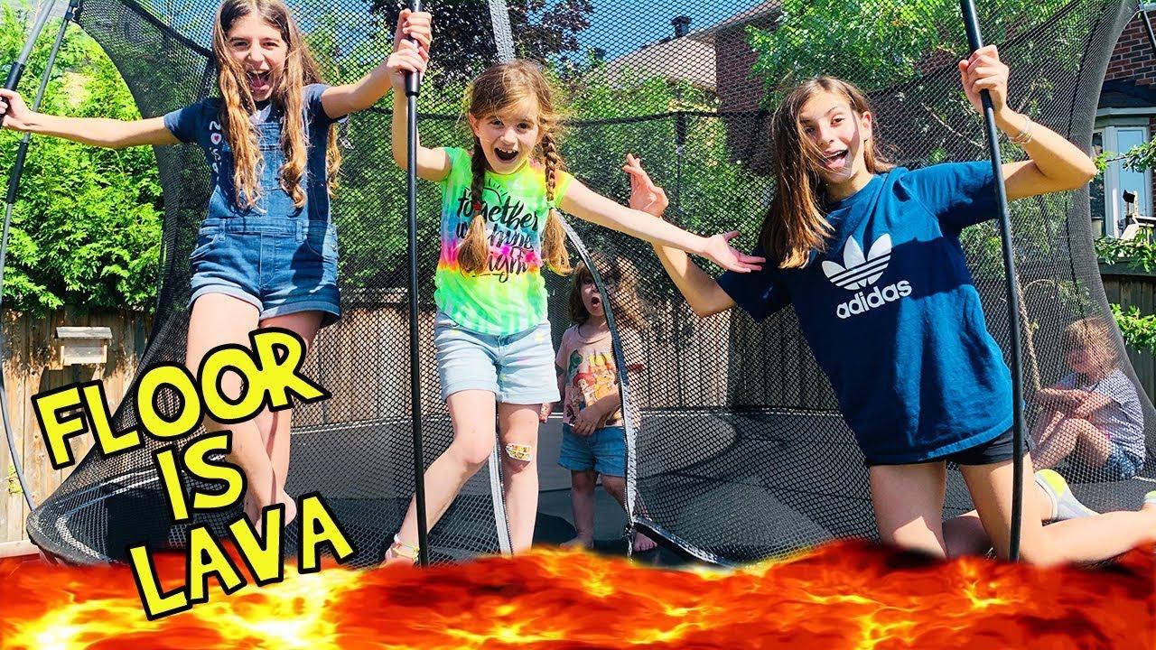 The Boodah Bunch Play Floor Is Lava Challenge! Kids Vs Parents