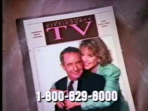 The (Baltimore) Sun TV Magazine ad from 1991