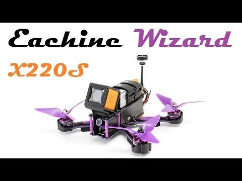 Гоночный квадрокоптер Eachine Wizard X220S
