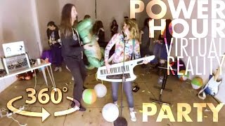Power Hour Drinking Game Party (360° VR Concert)-Ali Spagnola [w/ Stevie Boebi & Ally Hills]