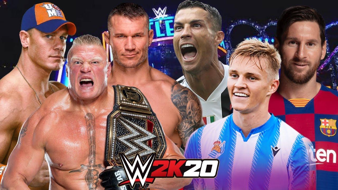 Download WWE vs FIFA   WWE 2K20 Gameplay