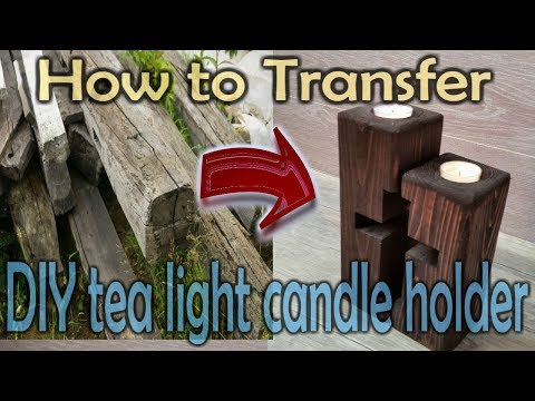 diy-tea-light-candle-holders-from-reclaimed-wood