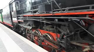 Паровоз на Финлянском Вокзале СПб