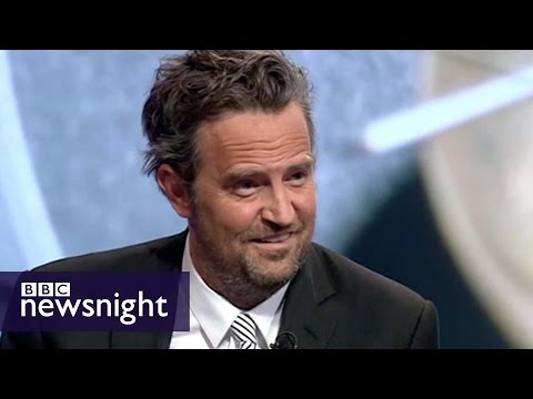 Matthew Perry debates drug courts with Peter Hitchens - BBC Newsnight