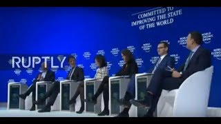 """LIVE: WEF 2019: """"The New Impetus for Europe"""" discussion"""